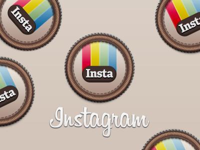 Instagram Badge instagram retro badge icon download psd free photos polaroid