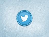 TwitterBird Badge