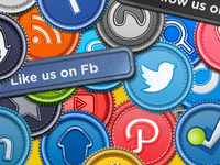 The Social Badges [Iconset]