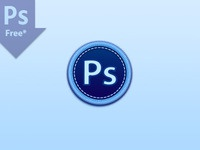 Photoshop Icon Badge