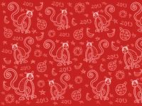 Goró Christmas Pattern