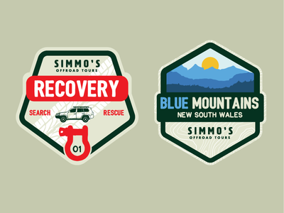 4WD patch/sticker designs 4x4 patch stickers adventure outdoors