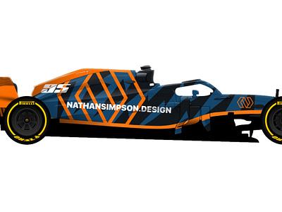 Formula 1 Car Livery race car vehicle graphics formula 1 racing livery