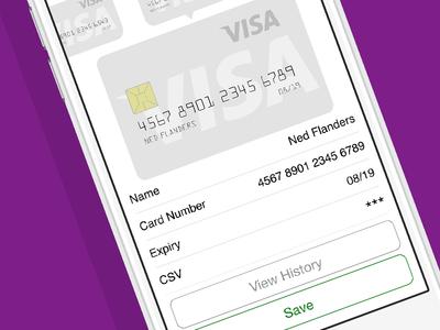 Need a Nanny - Billing Settings Screen uber nanny jobs iphone hire app airtasker