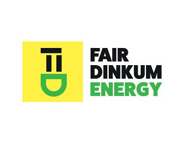Fair Dinkum Energy green energy logo power