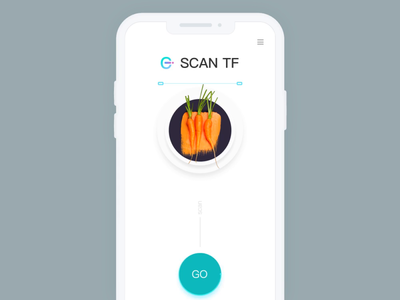Scan Real Or Fake App ui ae data loading analyze scan food animation gif app