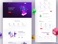 Finto Digital Marketing Landing Page design
