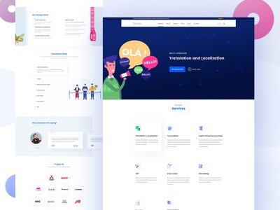 Redesign Agency Landing Page (B-cause Inc.)