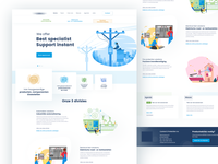 Control-protection Landing page