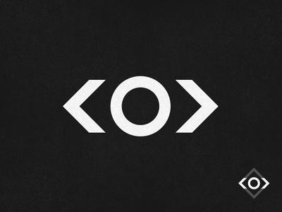 SeymourLabs minimal mark mark minimal logo html tags eye minimal logo