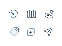 Forecourt icons