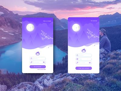 A meditation application concept 4 iphone meditate sloth playlist list calm ui ux meditating feedback