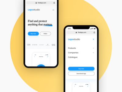 Mobile Website Design Designs Themes Templates And Downloadable Graphic Elements On Dribbble