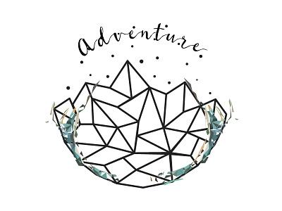 Adventure Time minimal design webdesign illustration adventure polygonal