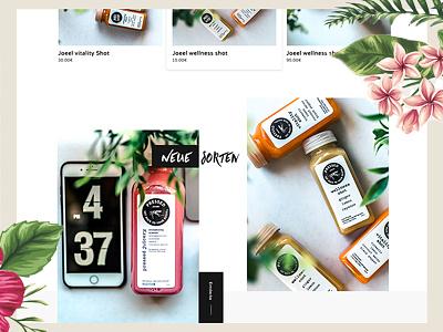 Detail Site Joeel Theme theme design clean userexperiencedesign userinterfacedesign webdesign minimal uxdesign ux ui uidesign theme shopware ecommerce