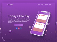 Today Landing Page