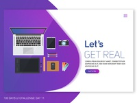 Daily UI 011 Landing Page