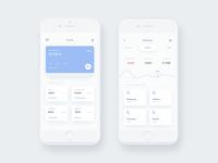 Wallet iOS App - Statistics