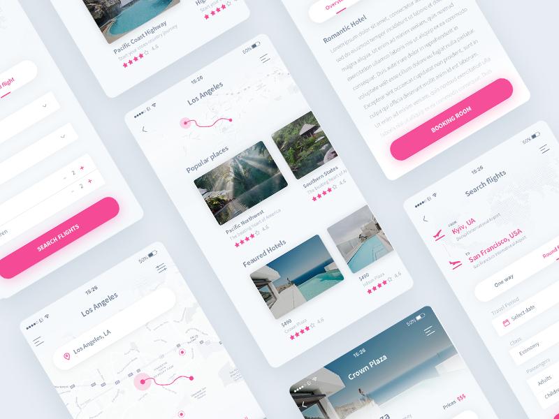 Travel iOS App - Details