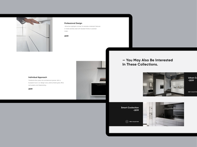 Horizon - Product Page. Details template web page design layout modern clean minimal product page website ux ui