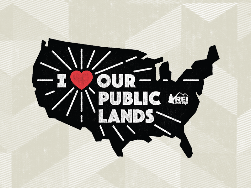 Iheartpubliclands map