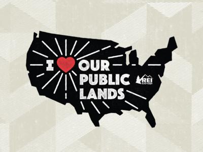 I Heart Our Public Lands — USA