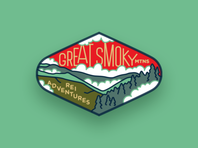 REI Adventures Patch — Great Smoky Mountains
