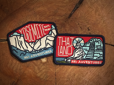 REI Adventures Patch