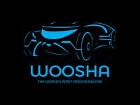 Woosha - Driverless Car - Daily Logo Challenge