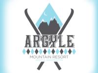 Argyle Mountain Resort - Daily Logo Challenge - Day 8