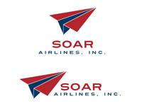 Soar Airlines Logo Design - Daily Logo Challenge