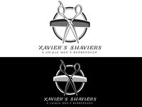 Xavier's Shaviers - Barbershop Logo - Daily Logo Challenge