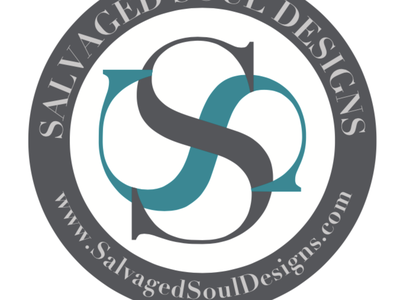 Salvaged Soul Design - Coaster Design usa tennessee swag marketing advertising graphic design white grey teal designs designer soul salvage salvaged drinks coasters coaster design logo design