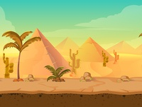 Desert game bg
