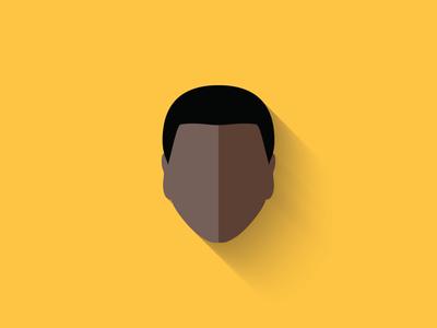 Finn Flat Design Icon