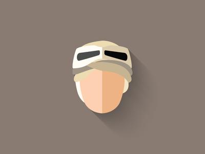 Rey Flat Design Icon