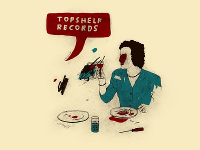Topshelf Records Illustration design illustration