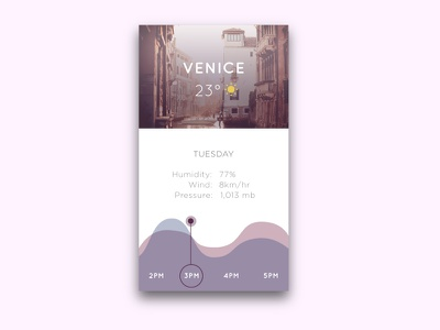 Weather App mobile material pretty vector data interface weather ux ui app dailyui 037
