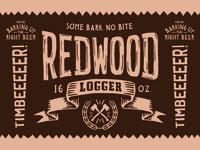 Redwood Logger Dribbble