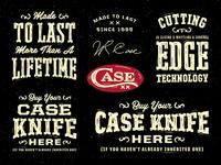 Case Knives POP