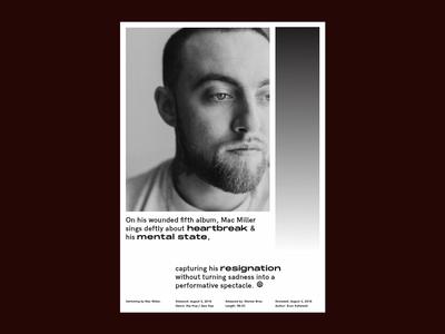 Mac mac miller music grid poster