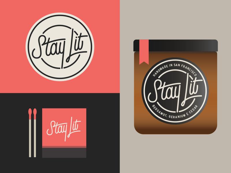 Stay Lit Candles By Morgan Gore Dribbble - Lit design 2015