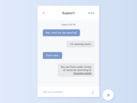Chat Bot - Daily UI #013