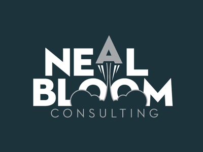 Neal Bloom Consulting Logo logotype endreola design logo design rocket logo