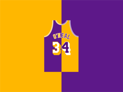 My Favorite Lakers - SHAQ