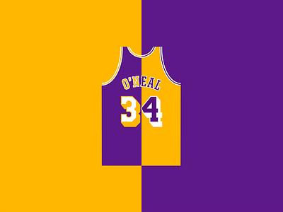 My Favorite Lakers - SHAQ vector shaq nba lakers basketball