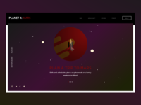 Daily UI #003 Landing Page - Planet 4 Mars