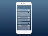 Daily UI -007 Settings Page