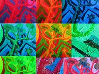 Color Test for Franklins Mural, Hyattsville
