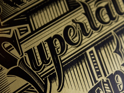 WeSC print schmetzer wesc superlative conspiracy gold deck